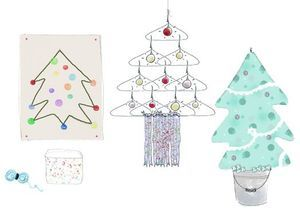 Do it yourself : des sapins de Noël home-made
