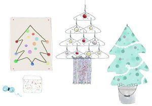 Do it yourself : des sapins de Noël home-made