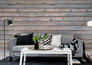 Leçon de déco : comment créer un effet bois au mur ?