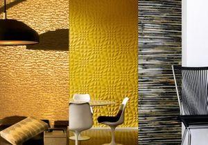 De la texture et du relief au mur !