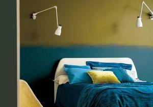 Dynamisez votre intérieur grâce à un mur bicolore