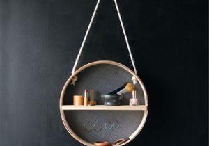 DIY : fabriquez un petit rangement suspendu