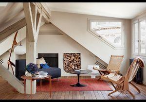 Avant/Après : un duplex mansardé atypique avec terrasse
