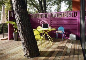 La terrasse fait le choix du bois !