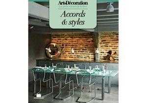 """Livre Art&Décoration : """"Accords et styles"""", format poche"""