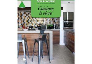 """Livre Art&Décoration : """"Cuisines à vivre"""", format poche"""