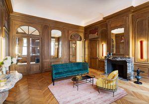 L'appartement privé de Coco Chanel aux couleurs du design danois