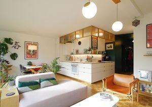 Avant/après : ce 75 m2 astucieusement redessiné a gagné une pièce