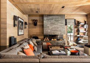 Un chalet typique... mais ultra design