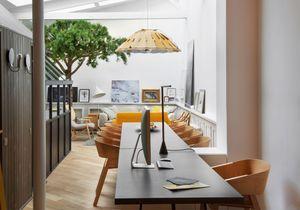 Chez Grégoire De Lafforest : un loft qui s'inspire de la nature
