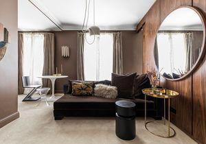 Inspirant : un appartement de 33m² comme une suite d'hôtel