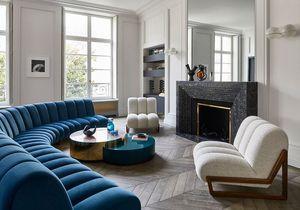 Luxe, art et volupté pour ce duplex géant au chic parisien