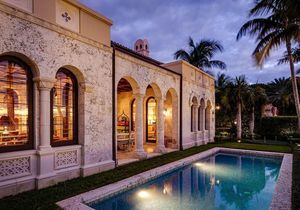 Luxe et air de Méditerranée à Palm Beach : la nouvelle villa de Tommy Hilfiger