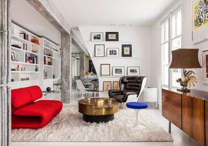 Un appartement parisien de 80 m2 décloisonné devient une immense suite
