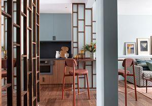 Petite surface : un studio de 40 m2 aménagé pour une famille