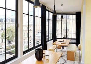 Un appart parisien modernisé, entre vintage et design