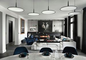 Un appartement de 250 m² entre bois et béton