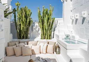 Une maison de rêve 100% blanche