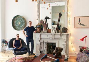 Visite d'un intérieur kids-friendly en plein Brooklyn, celui de Sophie Demenge, fondatrice de Œuf NYC