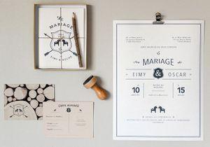Faire-part de mariage : nos créateurs coups de coeur