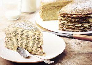 Chandeleur : Et si on tentait le gâteau de crêpes ?