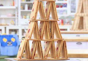 Le Meilleur Pâtissier 2018 : comment faire le gâteau château de cartes de Mercotte ?