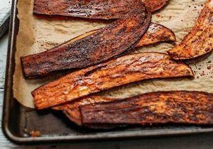 Comment transformer de l'aubergine… en bacon