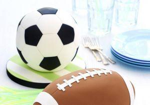 Comment faire un gâteau en forme de ballon de foot ?
