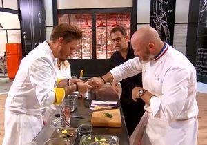 Top Chef 2018 : Blessé, Philippe Etchebest se fait soigner par un candidat