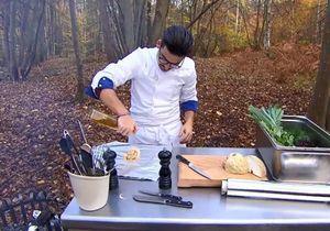 Top Chef : Camille Delcroix excelle autour d'un feu de bois