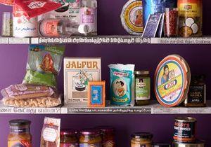 Des produits de placard indiens