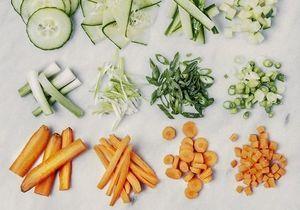 Comment couper des légumes en brunoise ?