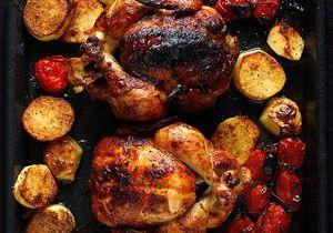 Comment faire un poulet au four ?