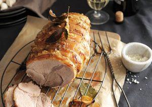 Cuisson du rôti de porc