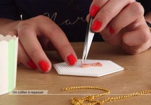 Collier Hama DIY et Nail Art pour un automne stylé !