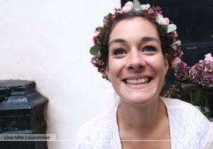 Look romantique : la couronne de fleurs