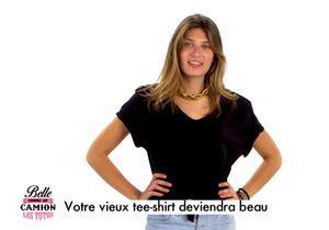 Tuto mode : Comment rendre tendance un vieux tee-shirt ?