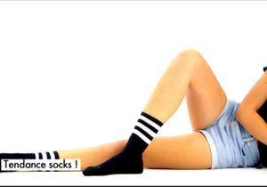 Tuto mode : la tendance des chaussettes !