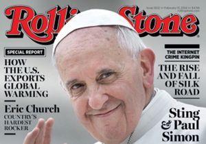 Le pape François, cover boy de « Rolling Stone » !