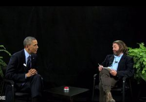 Vidéo : l'interview hilarante de Barack Obama par l'acteur Zach Galifianakis