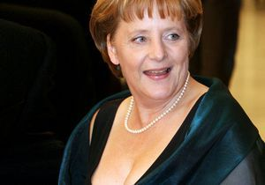 In bed with… Angela Merkel