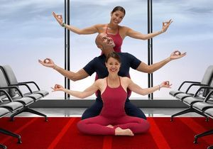 Paris Aéroports se transforme en salle de yoga