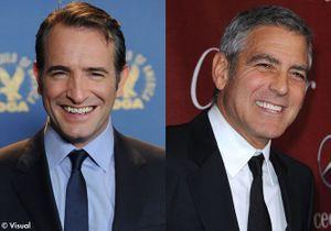 Jean Dujardin-George Clooney: le match des nommés aux Oscars