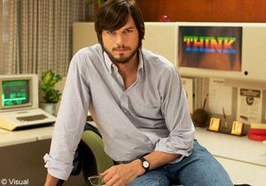 Ashton Kutcher métamorphosé en Steve Jobs