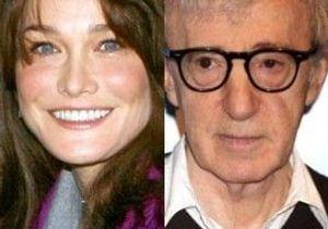 Carla Bruni jouera bien dans le prochain Woody Allen