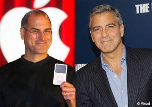 George Clooney, pressenti pour incarner Steve Jobs