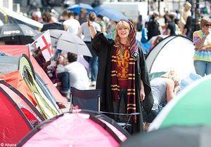 Harry Potter: les Potter-maniacs ont déjà investi Trafalgar Square