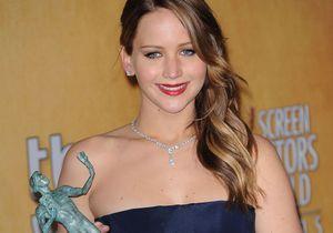 Jennifer Lawrence récompensée aux SAG Awards