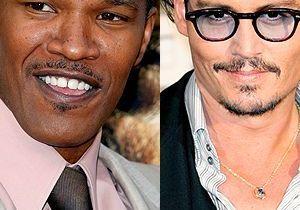 Johnny Depp et Jamie Fox dans la peau de Michael Jackson ?