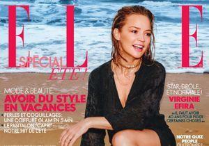 L'interview estivale de Virginie Efira, cover girl de ELLE cette semaine